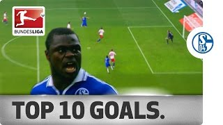 Top 10 goals - schalke 04