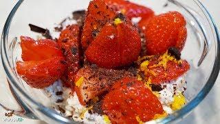 465 - Dessert fragole e ricotta..e parte la ribotta (dolce al cucchiaio primaverile facile e veloce)