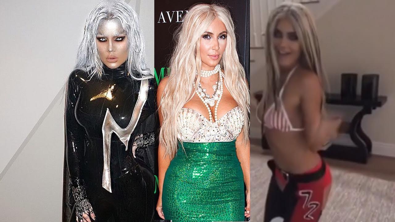 The Best Kardashian-Jenner Halloween Costumes -- Ever! - YouTube