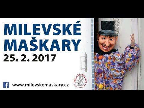 Milevské maškary 2017