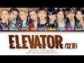 NCT 127 (엔시티 127) -  Elevator (127F) (Color Coded Lyrics Eng/Rom/Han/가사)