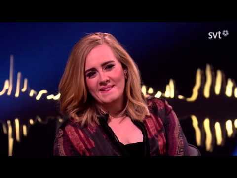Adele and Jamie Oliver about the swedish princess couple