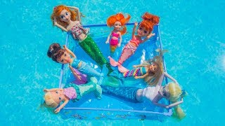 Elsa and Anna toddlers are mermaids!!