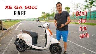 Xe ga 50cc giá rẻ đáng mua cho Phụ nữ và học sinh Giorno 50cc ▶ Đánh giá và Trải nghiệm