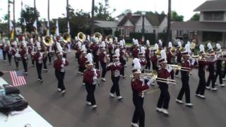Arlington HS - National Fencibles March - 2010 Loara Band Review