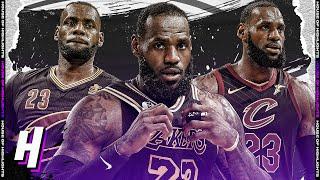 LeBron James BEST PLAYS & Moments Wearing Black Jersey | Last 5 Seasons