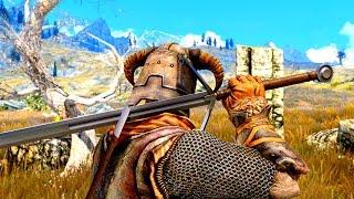 Skyrim mod: Scottish Claymore / Шотландский Клеймор