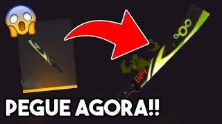 🔥FREE FIRE AO VIVO🔥TREINO MOBILE🔥NOVA MACHETE PEGUE AGORA