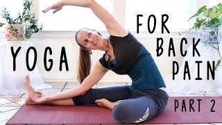 Easy Stretches for Low Back Pain, Back Pain Yoga Exercises Beginner Friendly Sciatica Relief