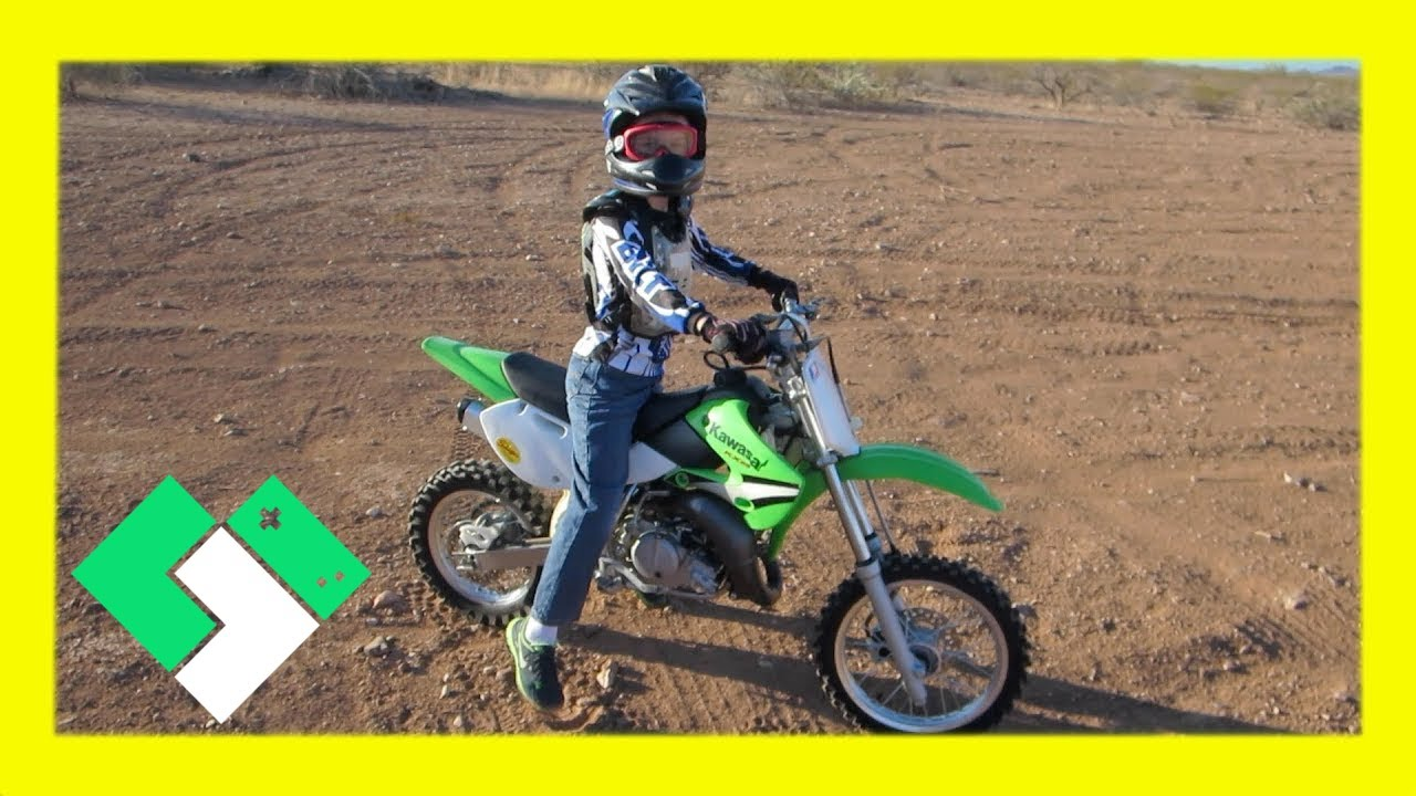 NEW DIRT BIKE FIRST RIDE (7.13.14 - Day 835) - YouTube