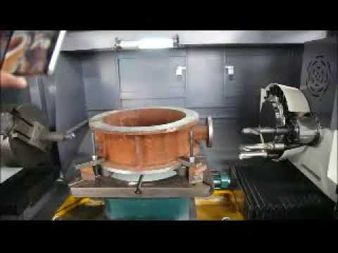 Milling and  Turning Machining---Butterfly valve machining
