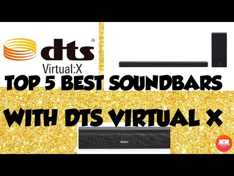 Top 5 best soundbars with DTS VIRTUAL X in india - YouTube