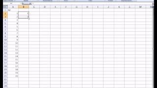MS Office Excel. Урок 3. Ввод последовательностей