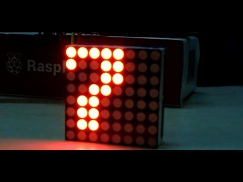 GPIO] Hiển thị LED MATRIX cùng Raspberry Pi