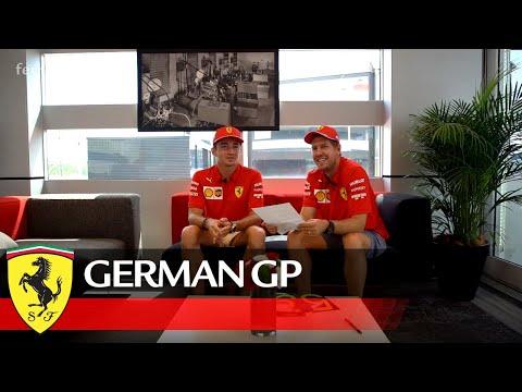German GP - Sprechen Sie F1? A Very Strict Professor Seb Testing Charles