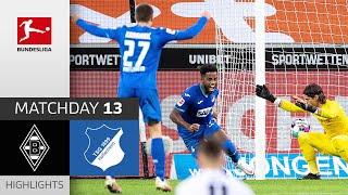 #bmgtsg | highlights from matchday 13!► sub now: https://redirect.bundesliga.com/_bwcs watch the bundesliga of borussia mönchengladbach vs. tsg ho...