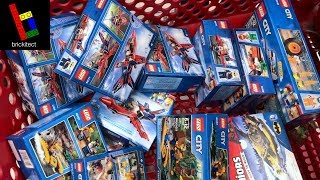 KID GOES CRAZY BUYING LEGO SETS AT TARGET!
