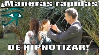 Maneras rápidas de hipnotizar + Guía de auto-hipnosis