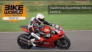 California Superbike School Level 2