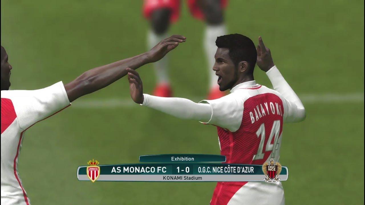 موناكو و نيس  فوز صعب لموناكو من خطأ دفاعي قاتل  بيس