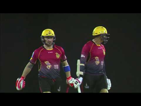 CPL T20 2017 | MATCH HIGHLIGHTS | ST LUCIA STARS vs TRINBAGO KNIGHT RIDERS
