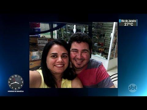 Empresária é morta pelo marido horas antes da própria festa de aniversário | SBT Notícias (26/03/18)