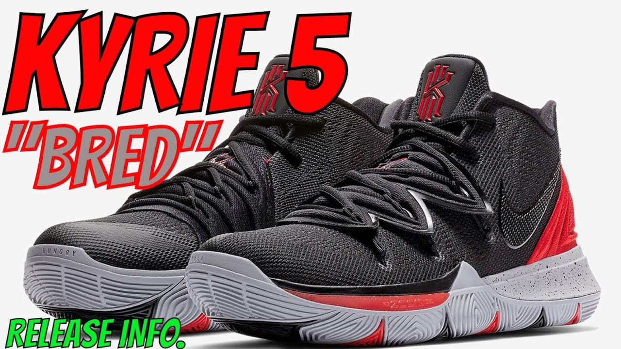THE NIKE KYRIE 5 SNEAKER IS DROPPING IN