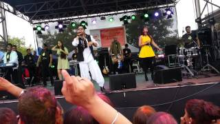 Mika Singh live in Melbourne @ Holi Fest at Sandown Racecourse 2013
