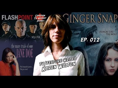 TV Writer Podcast 012 - TV/Feature Writer Karen Walton