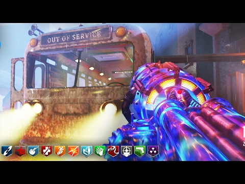 TOWN 2.0 ZOMBIES w/ 13 PERKS! - BLACK OPS 3 ZOMBIES CUSTOM MAP GAMEPLAY! (BO3 Zombies)