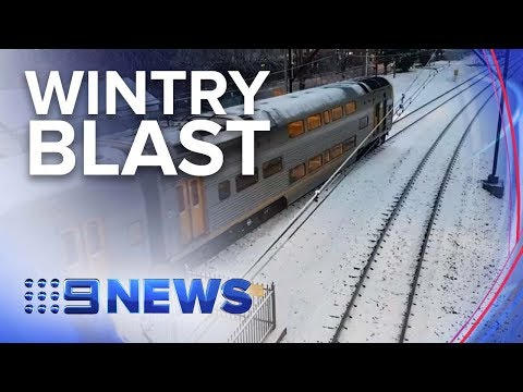 Wild Weather Sees Snow Blanket Parts Of Sydney And QLD | Nine News Australia