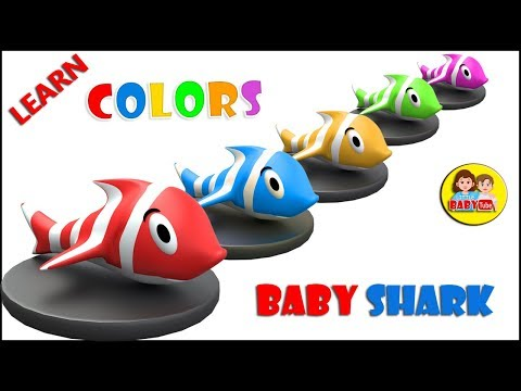Colors Learning for Kids with Baby Shark | Best Learning Videos for Children