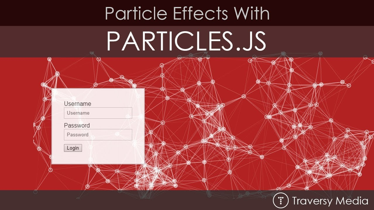 Create Particle Effects With Particles js