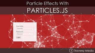 Create Particle Effects With Particles.js