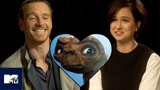 Michael Fassbender & Katherine Waterston Play Snog/Marry/Avoid: ALIEN Edition! 😘 | MTV
