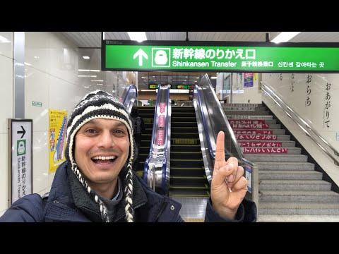 Nagano Station Shinkansen Change & Ekiben