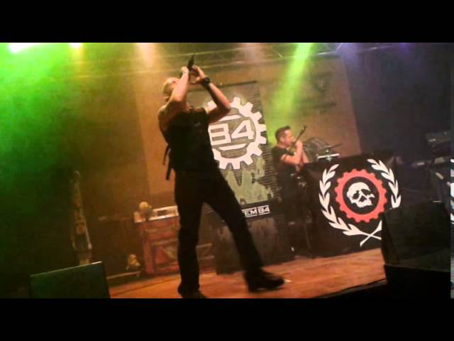 System 84 - No Shuffle (Front 242 Cover) Live in Augsburg 2015