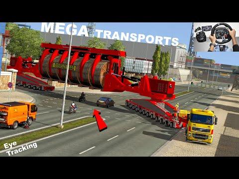 MEGA Transports | 260Ton | Euro truck simulator 2 | Volvo truck with Heavy cargo