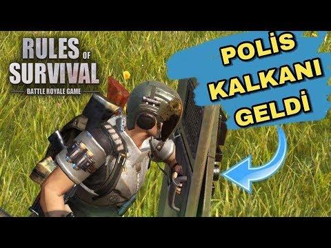 POLİS KALKANI GELDİ - RIOT SHIELD - RULES OF SURVİVAL - #ROS