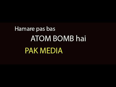 Pakistan only have Nuclear weapons No Development, No business and No Economy