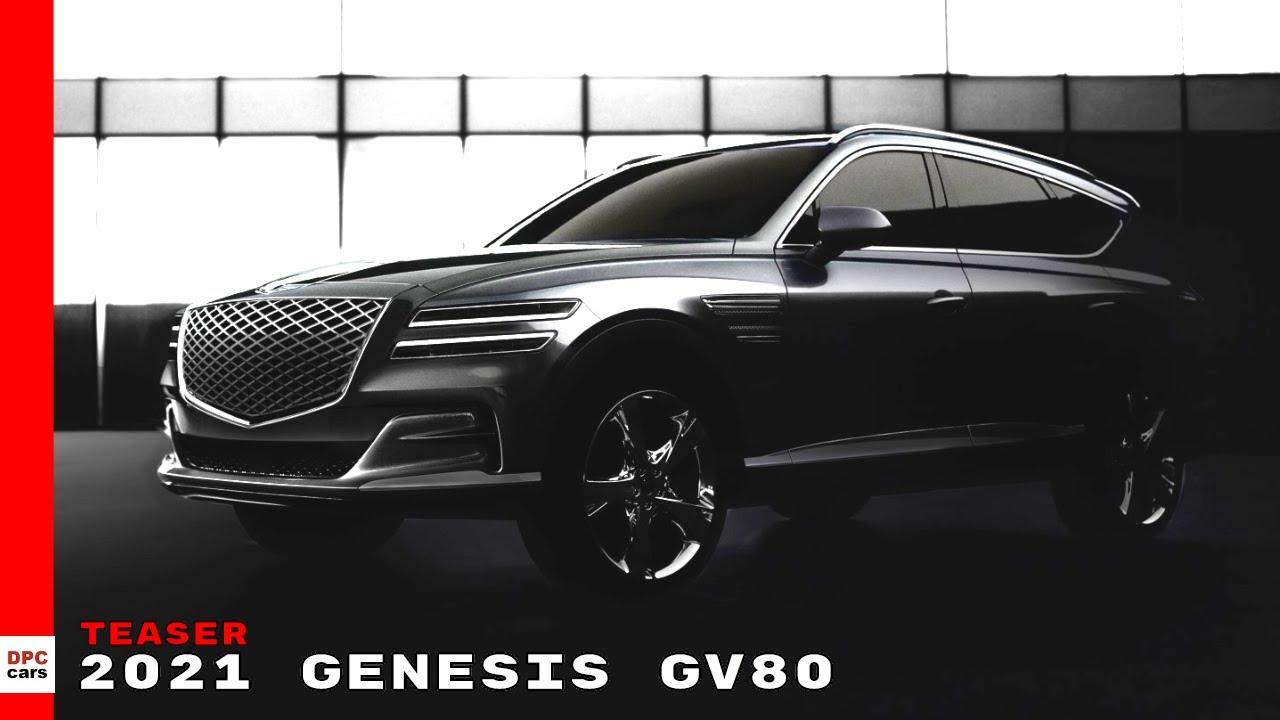 2021 Genesis Gv80 Suv Teaser Youtube