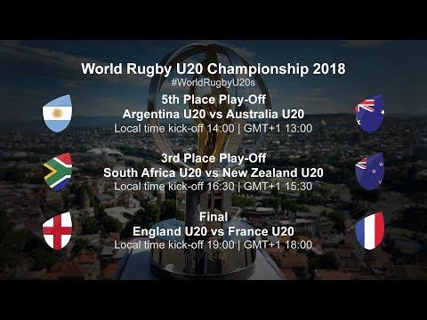 U20 Championship Day 5 - England U20 v France U20