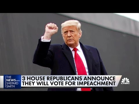 Congress votes on pushing 25th Amendment to remove Trump, but ...