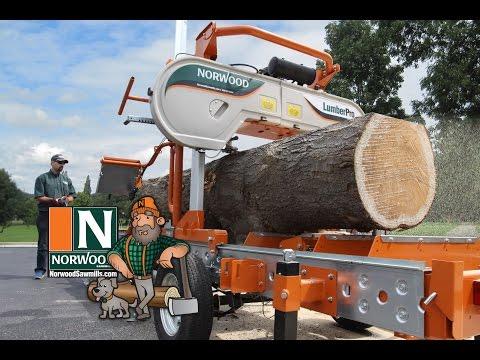 Une scierie à ruban mobile LumberPro HD36 de Norwood manuelle ou hydraulique? … à vous de choisir!