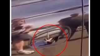 Creepy clip shows exactly why you should always check under your car door handle in Australia