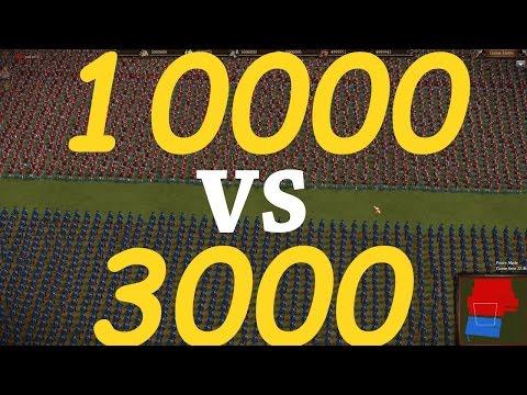 Cossacks 3: 10000 Grenadiers VS 3000 Prussian Musketeers.