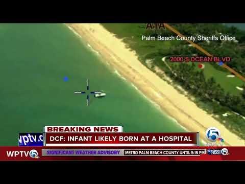 Baby found in ocean near Boynton Inlet likely born at a hospital, DCF says