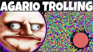 AGARIO Funny Moments   Trolling People In Agar.io #8