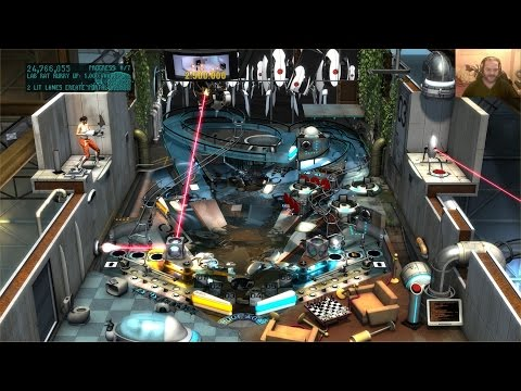 Pinball FX2 Table Mini-Review - 04 - Portal (PC 1080p60)