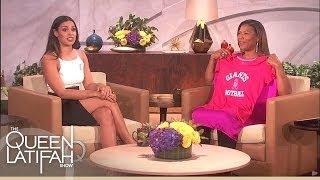 Jordin Sparks Brings Queen Latifah a Special Gift   The Queen Latifah Show